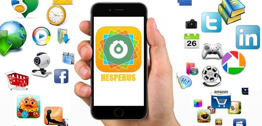 Hesperus applicatoin on iPhone