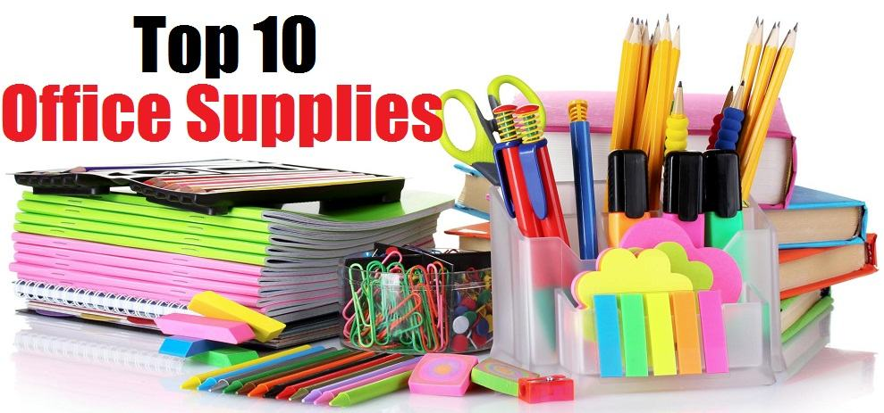 top 10 office supplies