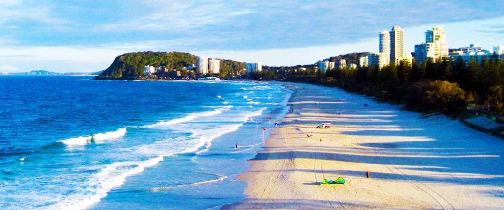 Burleigh Heads Beach Australia