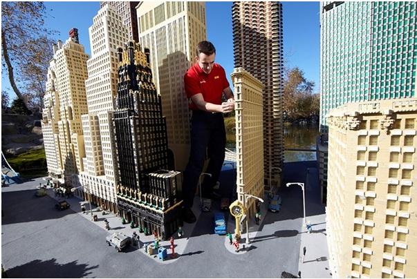LegoLand Factory Tour Dubai