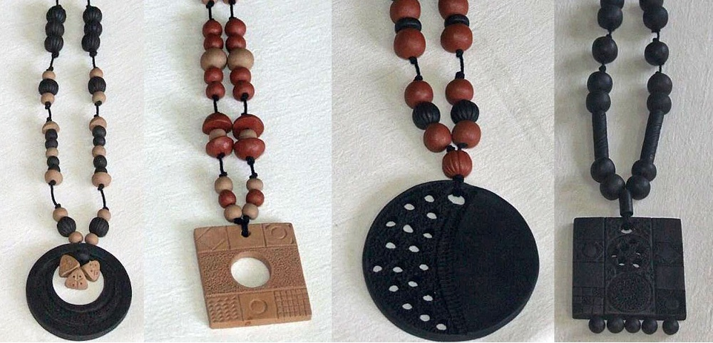 Wearing Beautiful Terracotta Jewelry