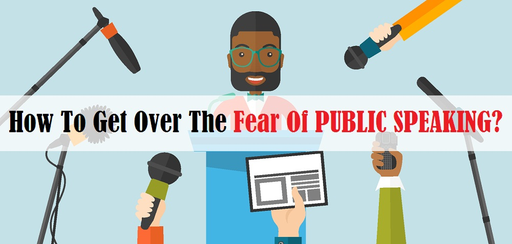 What causes fear of public speaking