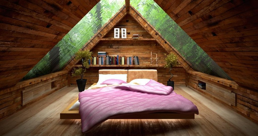Turning Your Old Attic Into a Brand New Bedroom