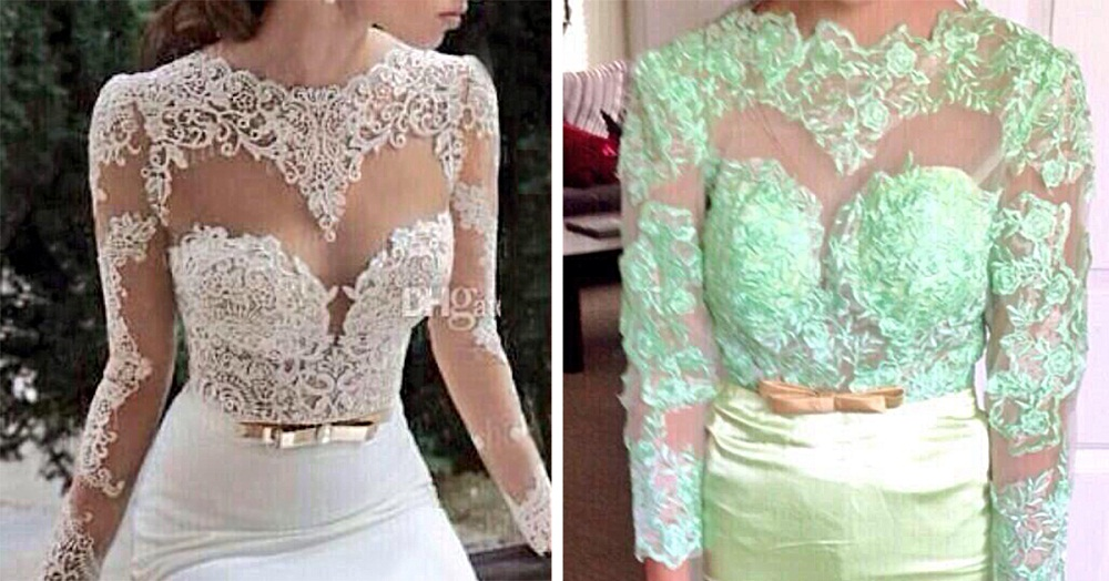 wedding dress shopping online reality expecations
