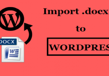 How to Import .docx Document to WordPress?
