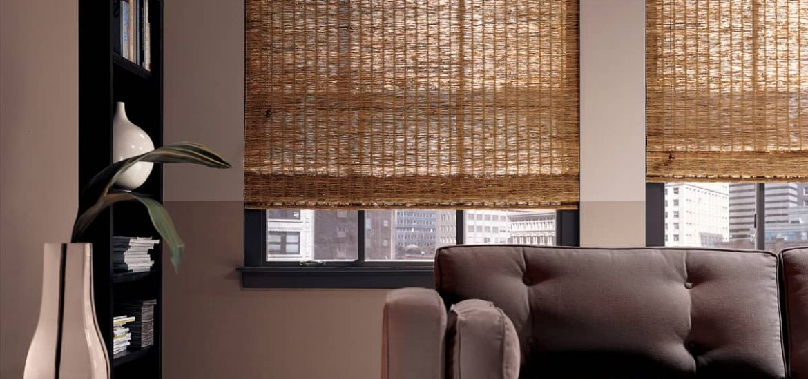 Decorate Your Entrance Door With Bamboo Door Curtains