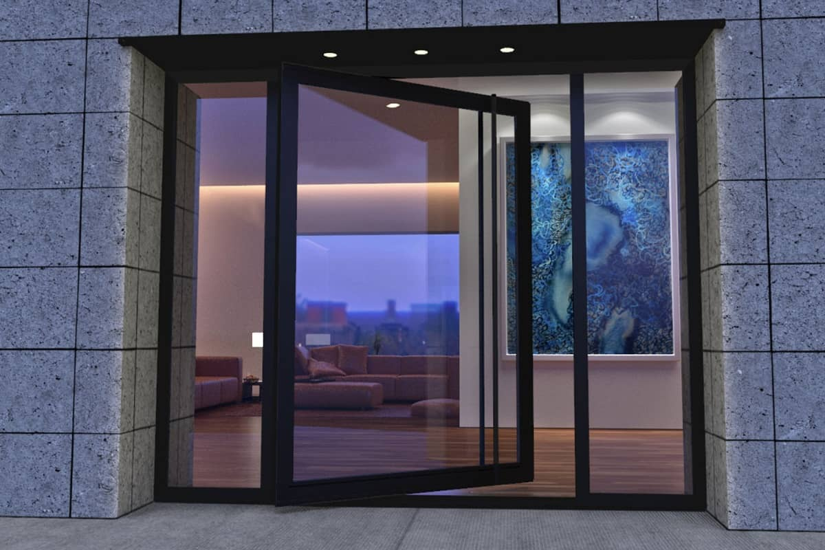 Glass Doors In Home