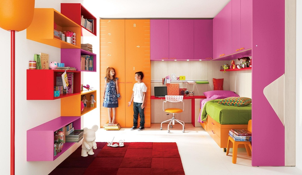Kids Bedroom Decorating Ideas With Modern Furniture Aida Homes for Modern Kids Room