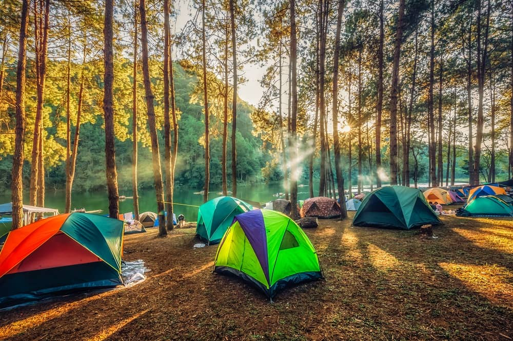 Camping Destinations in the U.S. 2018