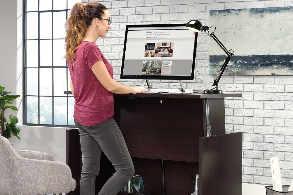 Five health benefits of standing desks
