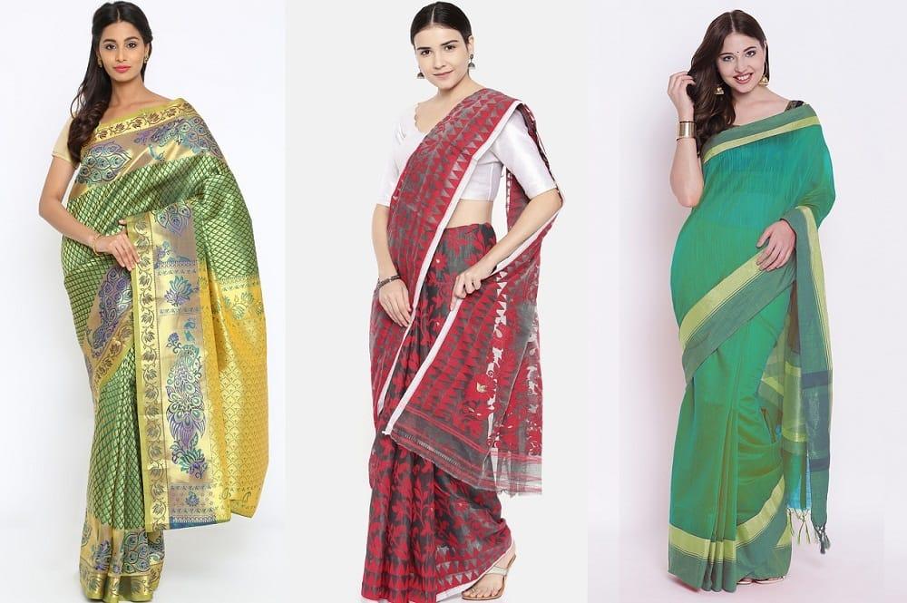 5 Tips to Help You Buy Dhakai Jamdani Saree