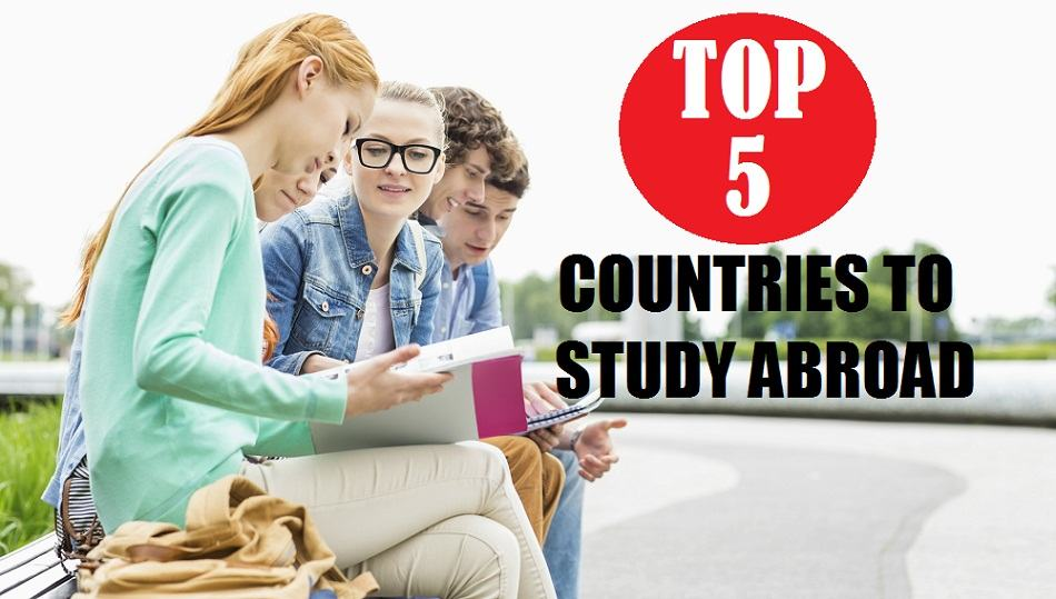 top 5 countries to study abroad
