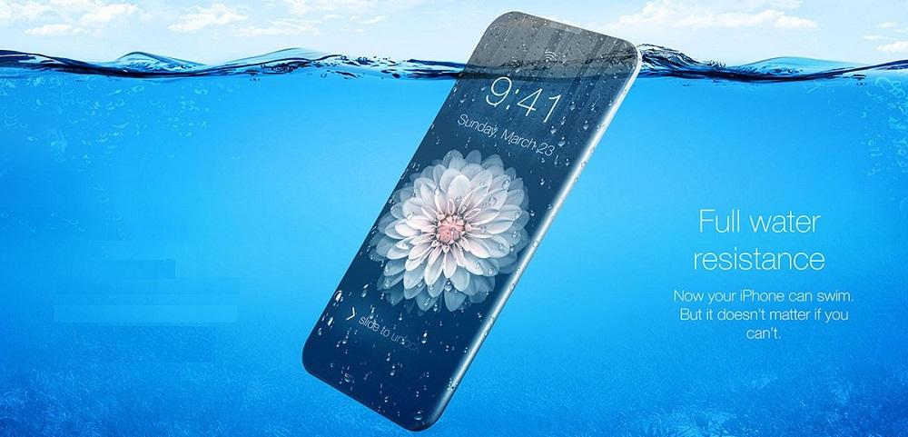 iPhone 7 Plus is waterproof