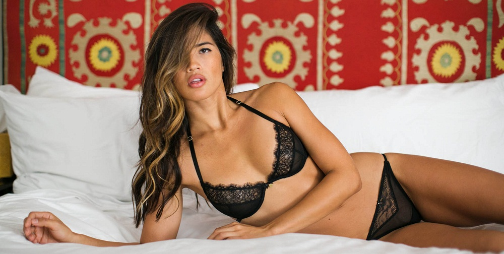 wear nice and sexy lingerie