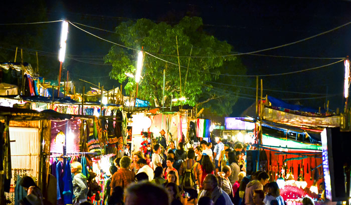 Arpora Saturday Night Bazaar, Goa
