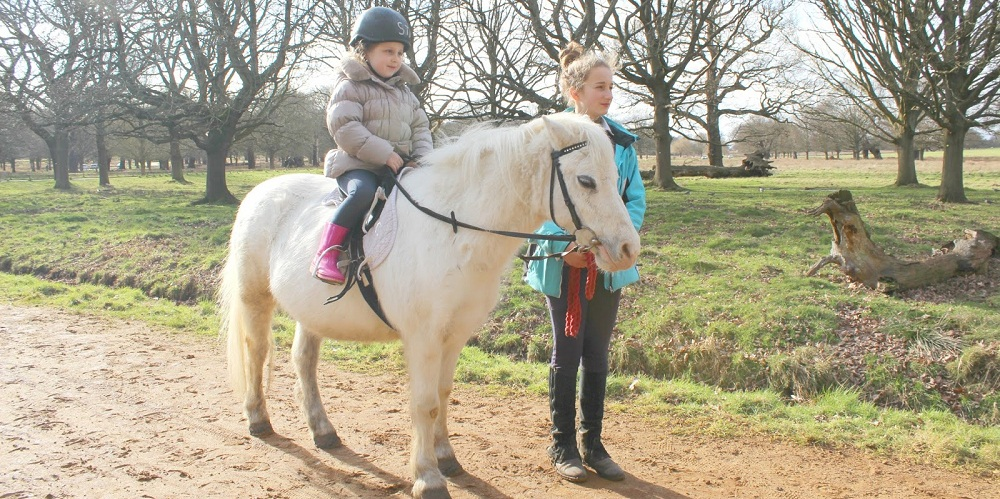 pony-ride-across-richmond-park-with-stag-lodge-stables