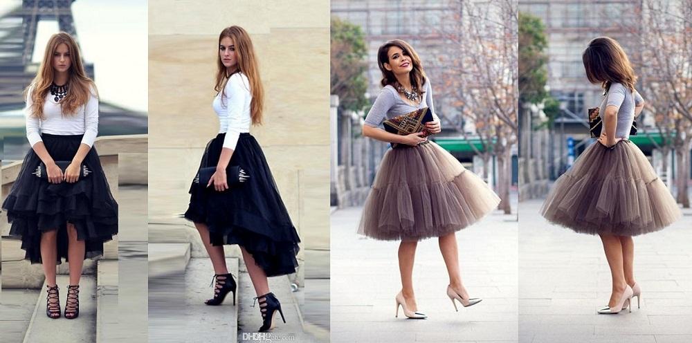 Bouffant Skirt Fashion