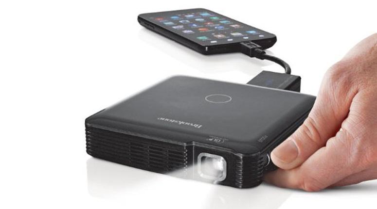 Brookstone HDMI Pocket iPhone Projector