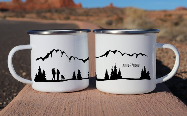 enamel mugs for camping the wild creatives