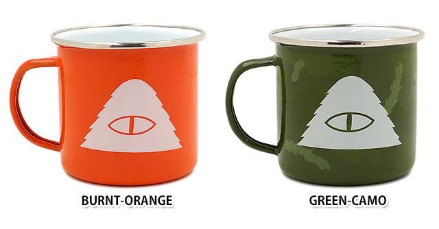 poler enamel camping mug