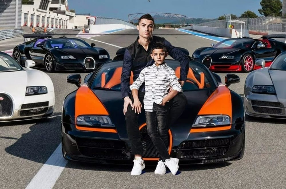 Wow! The 19 Cristiano Ronaldo Cars Collections | Trends Buzzer