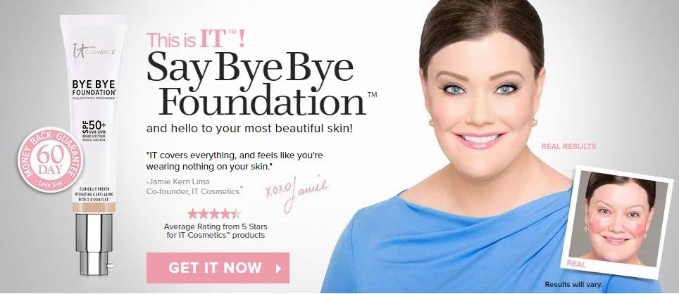 bye bye foundation reviews