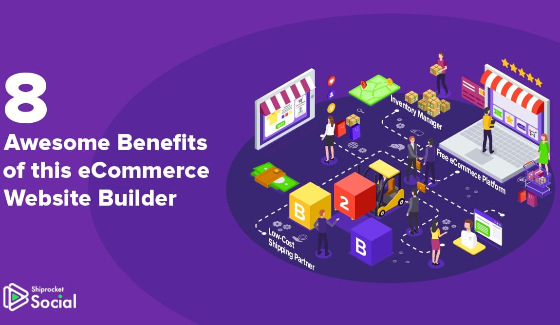 eCommerce website builder