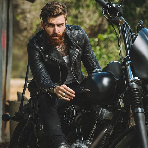 2020 Mens Biker Jacket